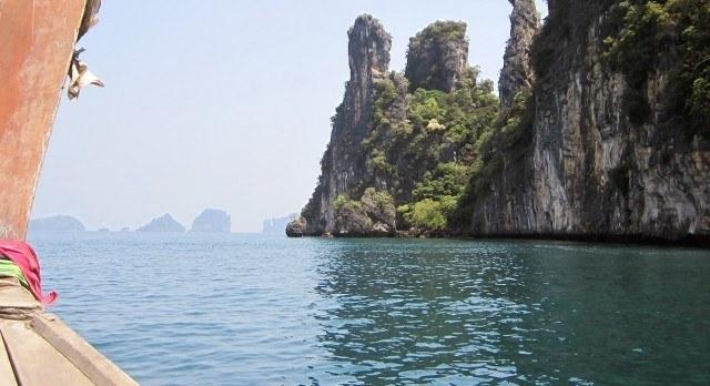 Koh Yao Yai: Kalksteinfelsen