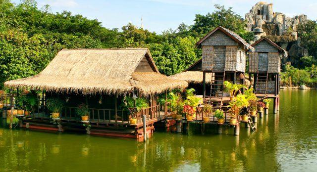 Die schwimmenden Dörfer am Tonle Sap