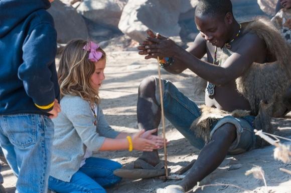 Natural Hunters: The Hadza Bushmen of Tanzania, Image Courtesy of Lake Eyasi Tented Camp, Tanjanyika Wildeness Camps