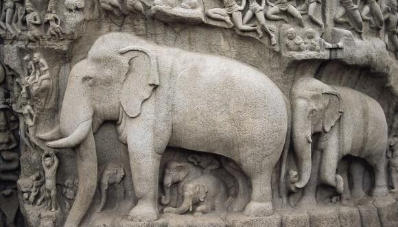 580 Mamallapuram Elephant