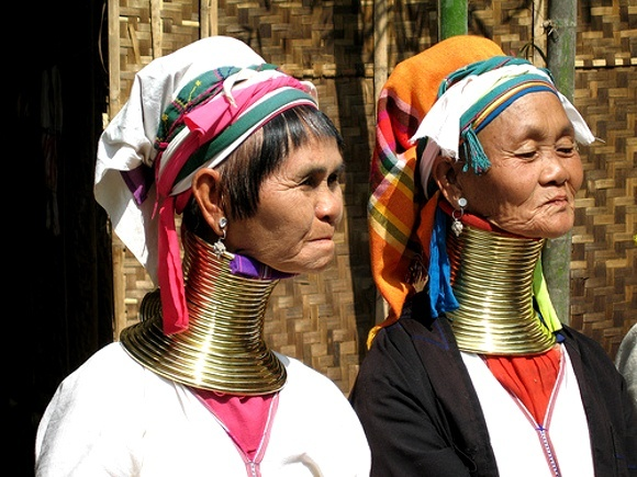 The Kayan Lahwi ethnic group of Myanmar