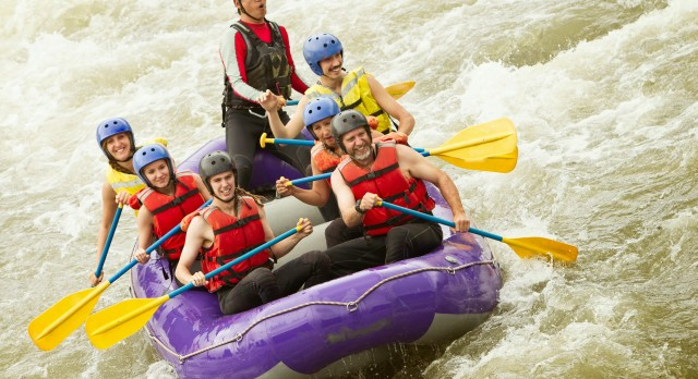White water rafting in the Zambezi river, Africa tours