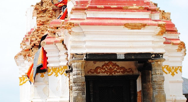 The Swayambhunath Temple in Nepal, Asia