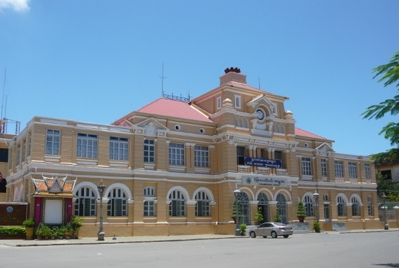 Cambodia's French Colonial Architecture - Central Post Office, Phnom Penh