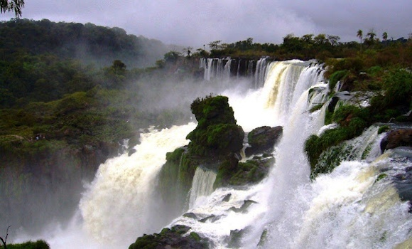 Iguazú - The Wonder Among the World's Largest Waterfalls