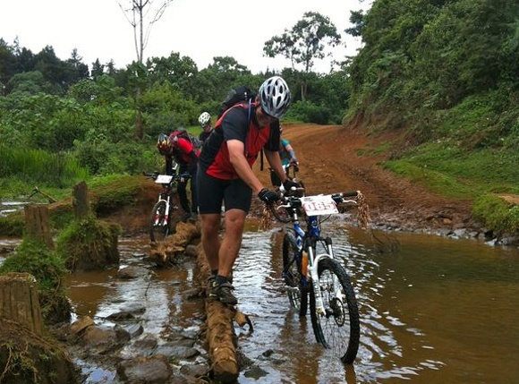 Bike Race In The Rift Valley!