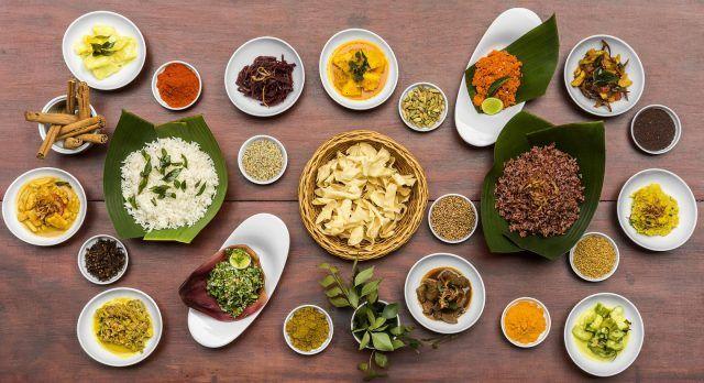 Sri Lankas Nationalgericht Rice & Curry