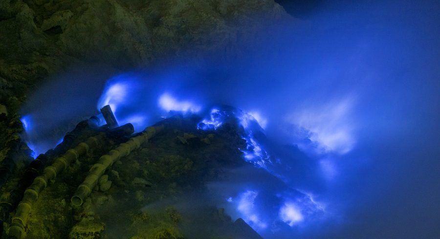 Blaues Feuer in Iljen - Aktivurlaub pur
