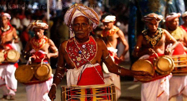 Kandy Perahera Parade Sri Lanka