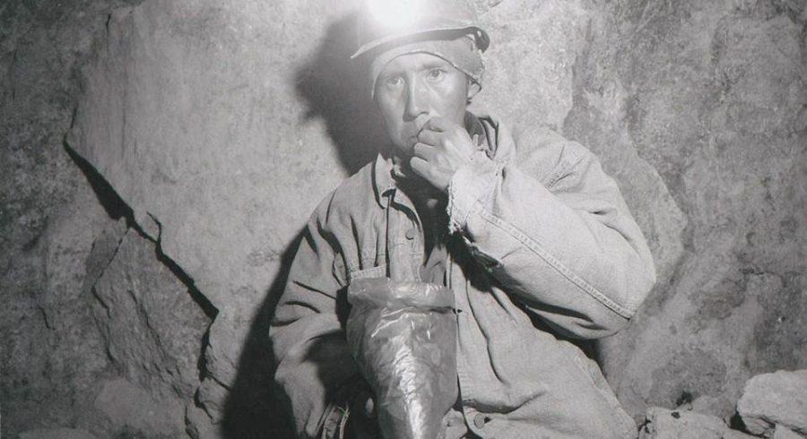 Minenarbeiter in Bolivien