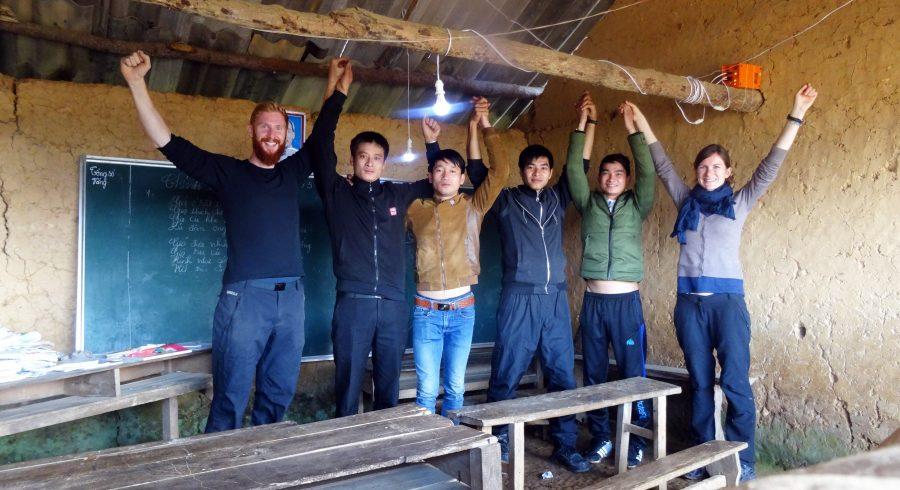Vietnam Reisebericht von Duchstein & Sebastian Haffner - Installieren von 100 Solaranlagen in den Entwicklungsländern.