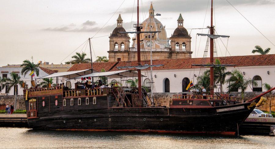 Panorama von Cartagena de Indias